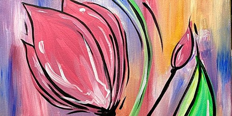 Vibrant Tulip Painting 4/17 at Northern Hollow Winery tickets