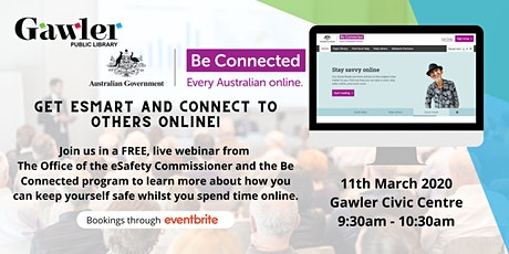 Be Connected Webinar: Connecting to others tickets