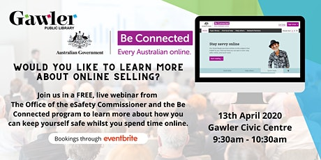 Be Connected Webinar: Online Selling tickets