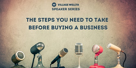 The steps you need to take before buying a business tickets