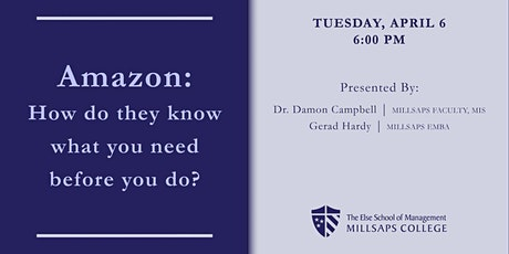 Amazon: How do they know what you need before you do? tickets