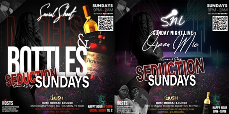 Seduction Sundays - Social Shoot & Models & Bottles After-Party! tickets