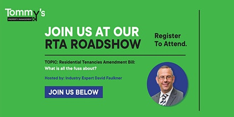 Residential Tenancies Amendment Act Roadshow: Paraparumu Beach Golf Club tickets
