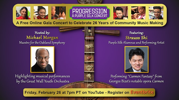 Progression - A Purple Silk Free Online Concert image