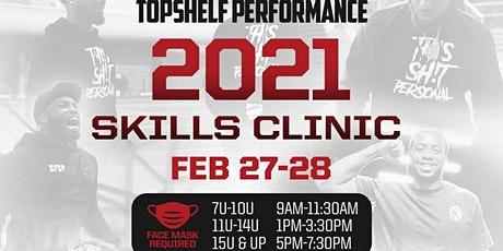 TopShelf Performance Skills Clinic tickets