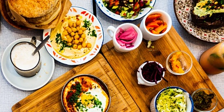 The Lavish Mezze Table tickets
