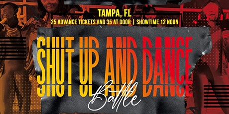Shut up and dance/step tickets