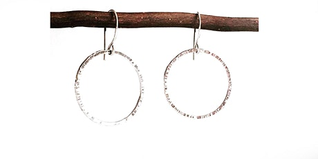 WORKSHOP | Hammered Hoops  Silversmithing workshop with Renata Fojtikova tickets