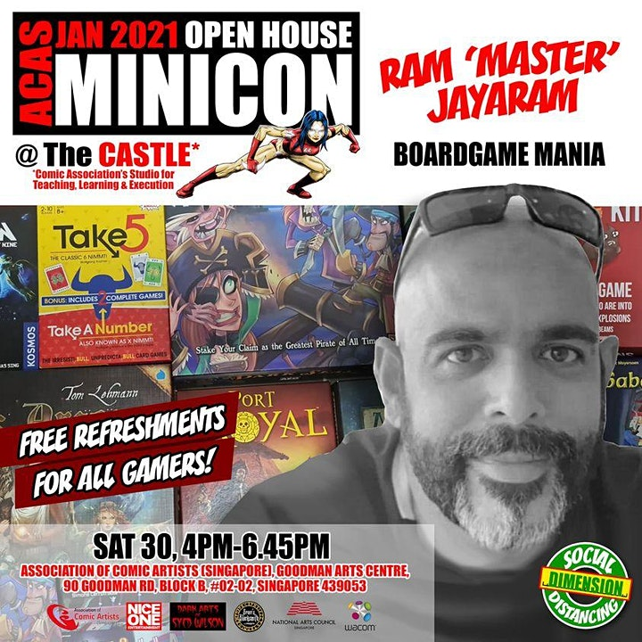 ACAS JAN 2021 OPEN HOUSE MINICON @ The CASTLE image