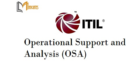ITIL® - Operational Support And Analysis (OSA) 4 Days Training - Wellington tickets