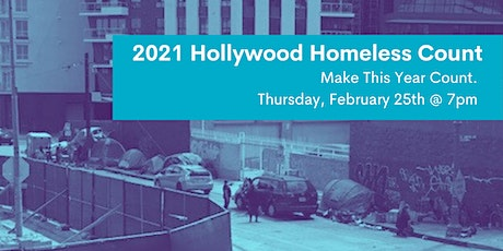 2021 Volunteer Hollywood Homeless Count tickets