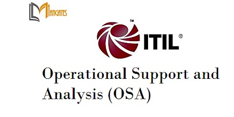ITIL® - Operational Support And Analysis 4Days Virtual  Training - Dunedin tickets