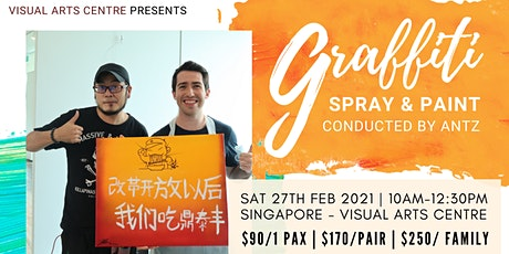 Graffiti Art - Spray and Paint Workshop tickets