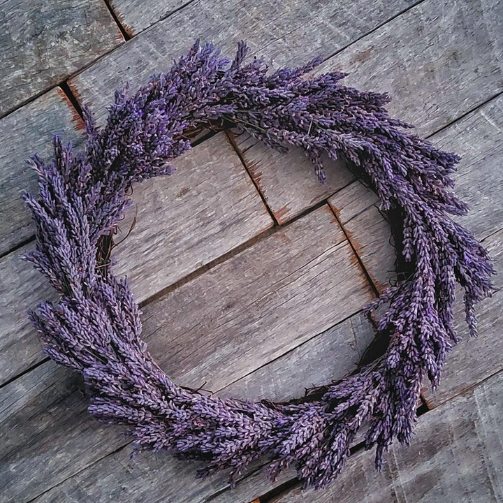 Campo de Flori - Valentines  Lavender Wreath Workshop image