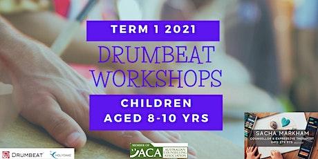 DRUMBEAT Workshops, Children aged  8-10 Years tickets