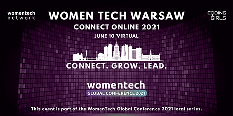 WomenTech Warsaw - Connect Online (Employer Tickets) tickets