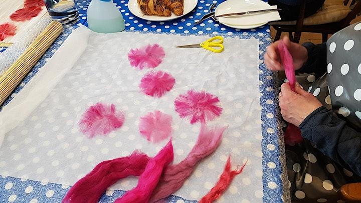 Felt Flower Workshop image