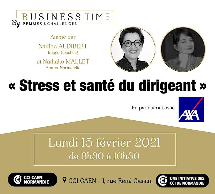 Image pour Business Time - Stress et santé du dirigeant