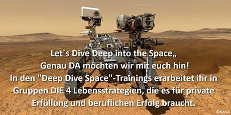 "Deep Dive Space - ""Find your inner Astronaut"" mit Claudia Lutschewitz tickets"
