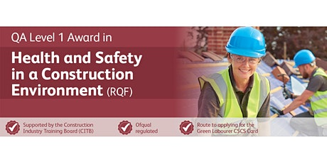 Scarborough - Level 1 Course for CSCS Card Application tickets
