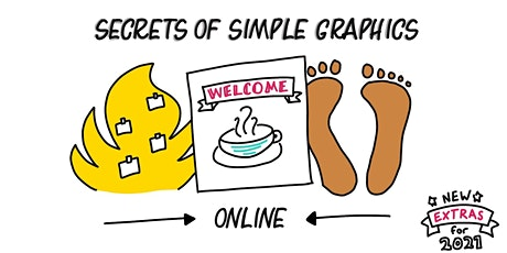Secrets of Simple Graphics - a 6 week course starting 24th June 2021 tickets