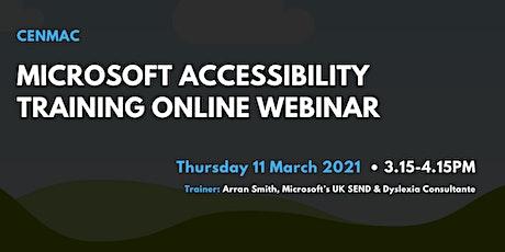 Microsoft Accessibility Training Online Webinar – CM16 tickets