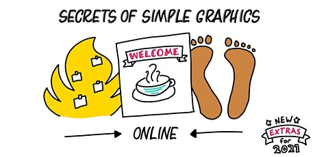 Secrets of Simple Graphics - a 6 week course starting 30th September 2021 tickets