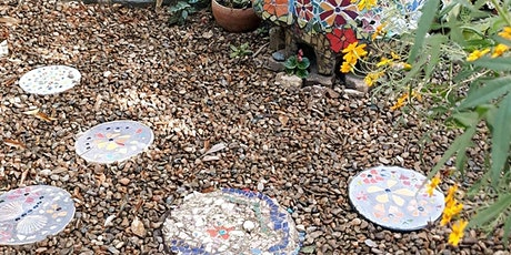 Make a Mosaic Stepping Stone for your garden tickets