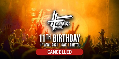 [CANCELLED] 11 Years of High Focus Records tickets