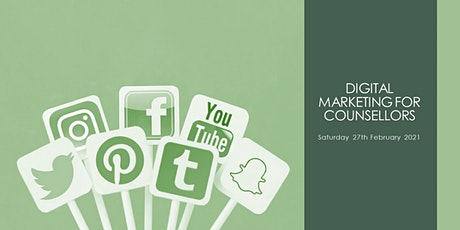 Digital Marketing for Counsellors tickets