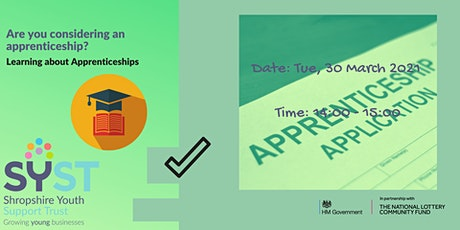 Are you considering an apprenticeship? tickets