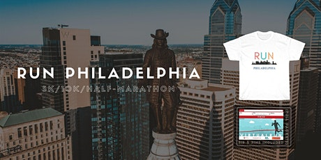 Run Philadelphia Virtual 5K/10K/Half-Marathon entradas