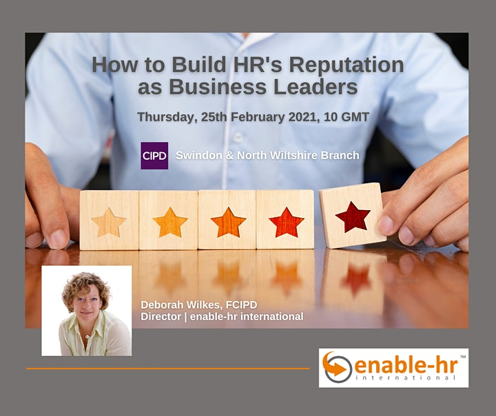 "How to build HR's reputation as business leaders - ""A 4-part strategy"" image"