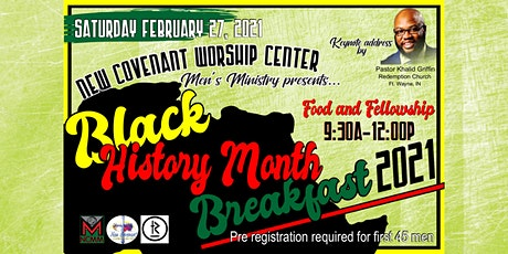 Men's Ministry Black History Month Breakfast tickets