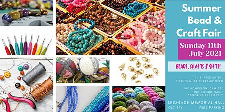Summer Bead & Craft Fair tickets