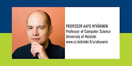 Department Seminar: Professor Aapo Hyvärinen tickets