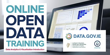 ONLINE Ireland Open Data - Data Analytics & Visualisation Intro (Apr 2021) tickets
