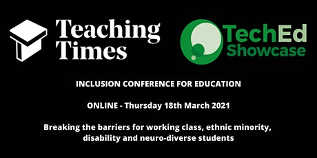 InclusiveEd - Inclusion Conference for Education tickets