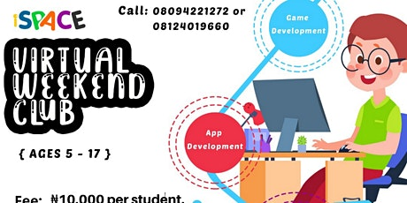 iSPACE Virtual Weekend Club tickets