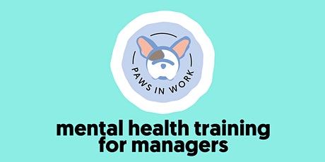Mental Health Training For Managers tickets