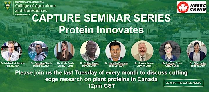 CAPTURE Seminar Series: Protein Innovates #6 image