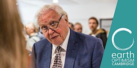 In conversation with Sir David Attenborough tickets