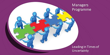 Leading in Times of Uncertainty - Managers Programme (Managers, 04.03.21) tickets