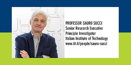 Department Seminar: Professor Sauro Succi tickets