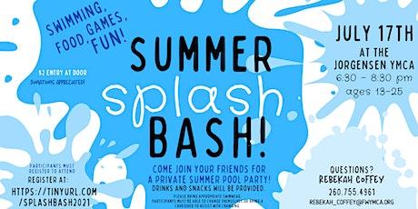 Summer Splash Bash tickets