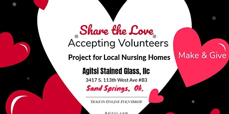 Volunteer to make Stained Glass for Nursing Homes tickets