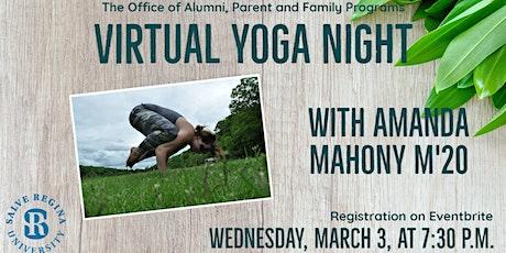 Salve Regina Alumni and Families Virtual Yoga Class tickets