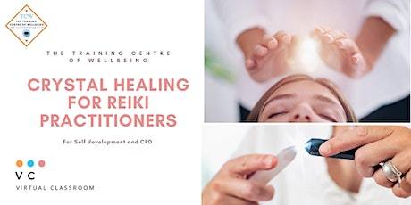 Crystal Healing for Reiki Practitioners - CPD and self development workshop tickets
