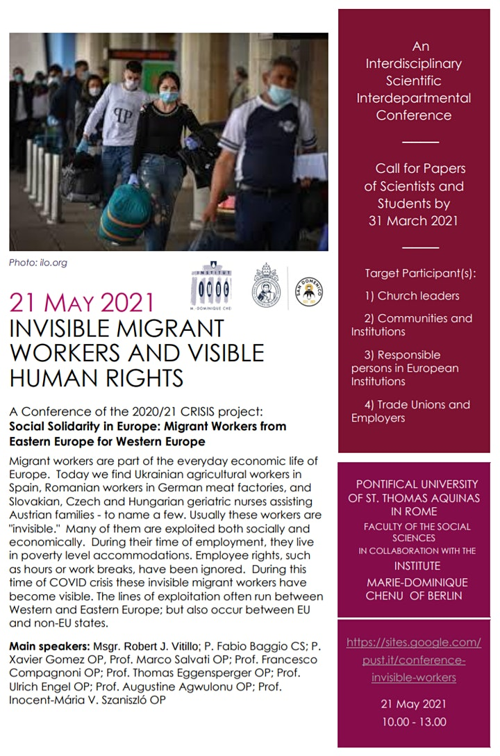 Immagine Invisible Migrant Workers and Visible Human Rights