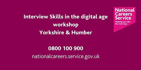Interview Success in a Virtual World -Leeds, York and North Yorks tickets